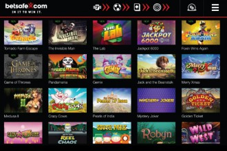 Betsafe Mobile Casino Games