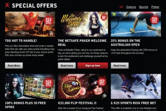 Betsafe Online Casino Promotions