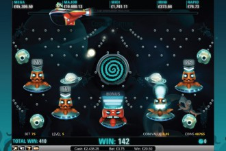 Cosmic Fortune Online Slot Bonus Game