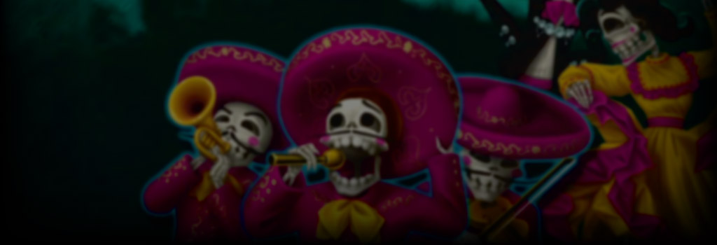 Day of the Dead Background Image