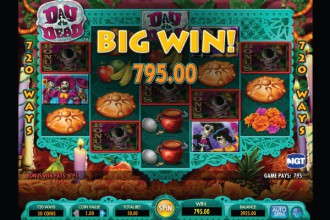 Day of the Dead Big Slot Win