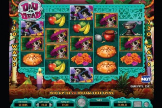 Day of the Dead Slot Bonuses