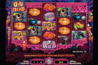 Day of the Dead Slot Free Spins