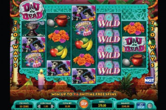 Day of the Dead Slot Wilds