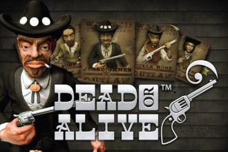 Dead or Alive Slot Logo