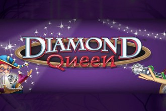 Diamond Queen Slot Logo