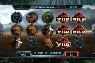 Jurassic Park Slot Wilds
