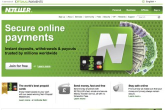 Neteller Secure Online Payments Home
