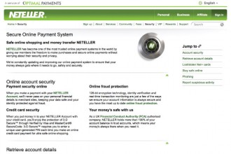 Neteller Secure, Safe Money Transfers