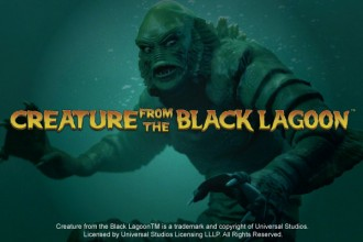 Creature from the Black Lagoon Slot Logo