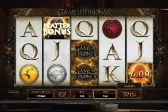 Game of Thrones Slot Scatters