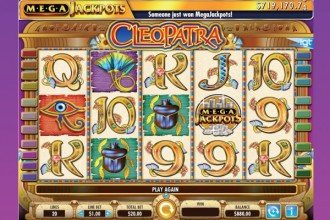 MegaJackpots Cleopatra Slot Screenshot