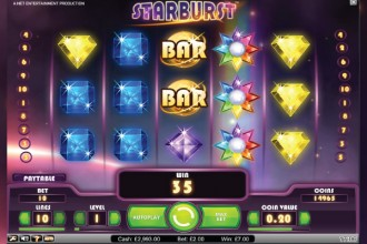 NetEnt Starburst Online Slot Wilds