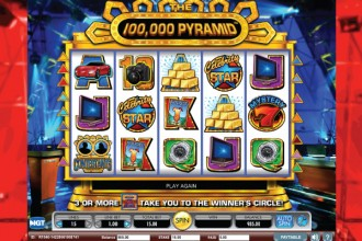 The 100,000 Pyramid Slot Screenshot