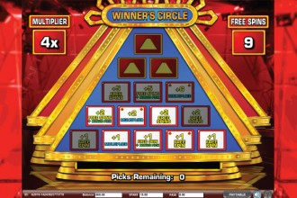 The 100,000 Pyramid Slot Winners Circle