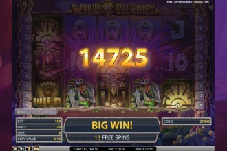 Wild Turkey Slot Big Win