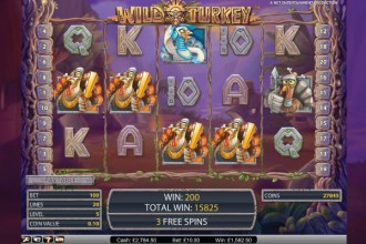Wild Turkey Online Slot Free Spins