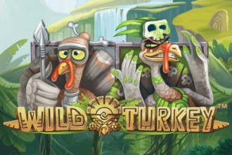 Wild Turkey Slot Logo