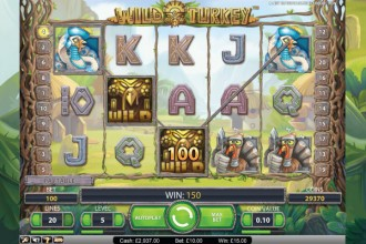 Wild Turkey Slot Screenshot