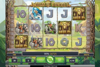 Wild Turkey Slot Wilds