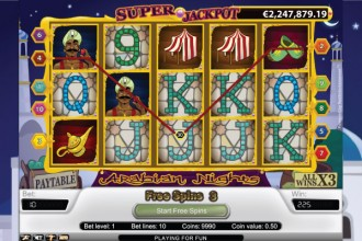 Arabian Nights Slot Free Spins