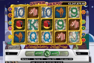 Arabian Nights Slot Screenshot
