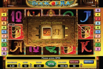 Book of Ra Deluxe Slot Free Spins
