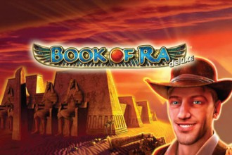 Book of Ra Deluxe Slot Logo