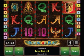 Book of Ra Deluxe Slot by Novomatic