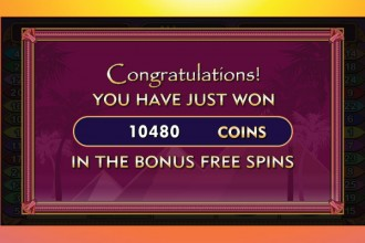 Isis Slot Free Spins Win