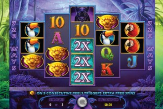 Prowling Panther Slot Free Spins