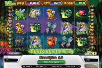 Super Lucky Frog Slot Free Spins