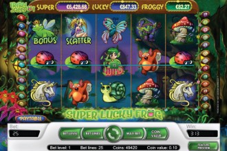 Super Lucky Frog Slot Wilds