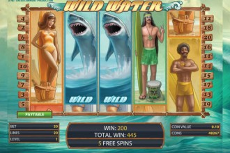 Wild Water Slot Expanding Wilds