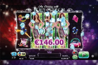 An Evening With Holly Madison Slot Big Win