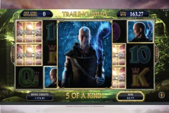 Avalon 2 Slot 5 of A Kind Win