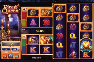 Fire Queen Slot Big Win