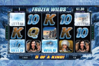 Girls with Guns 2 Slot Frozen Wilds