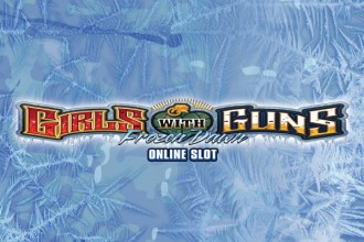 Girls with Guns 2 Frozen Dawn Slot Logo