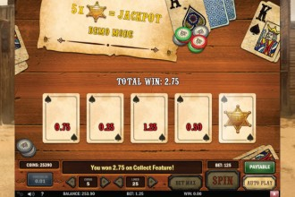 Gunslinger Slot Jackpot Game