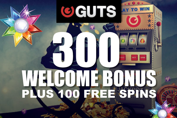 Guts Casino Welcome Bonus Package