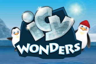 Icy Wonders Slot Logo