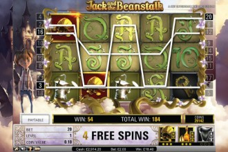 Jack and the Beanstalk Slot Free Spins
