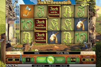 Jack and the Beanstalk Slot Walking Wilds