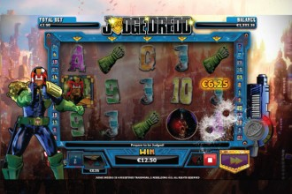 Judge Dredd Slot I Am The Law Bonus Game