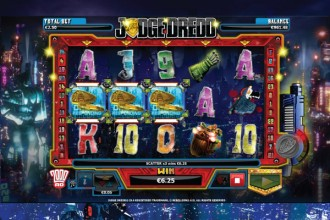 Judge Dredd Slot Scatters
