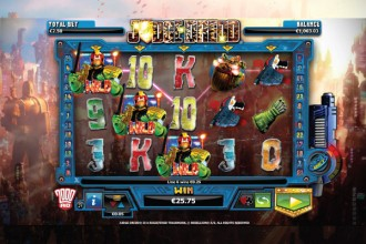 Judge Dredd Slot SuperBet Wilds