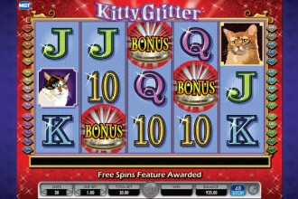 Kitty Glitter Slot Bonus Symbols