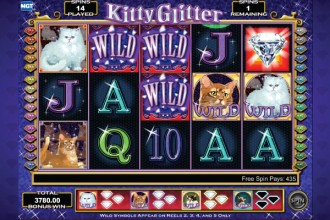 Kitty Glitter Slot Free Spins Wilds
