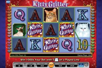 Kitty Glitter Slot Wilds